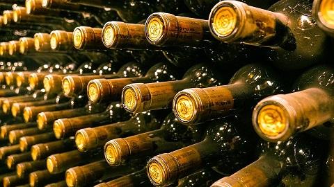 Veroudering van wijn...